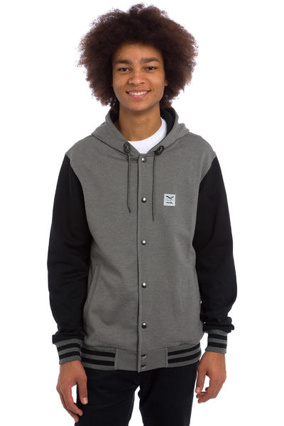 Iriedaily Daily College Jacke (charcoal melange)