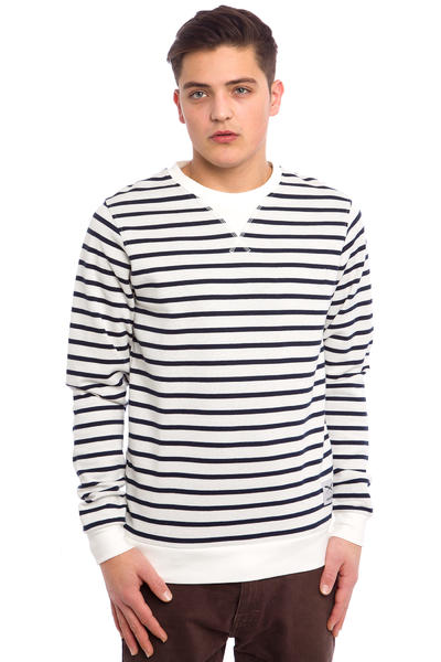 Iriedaily Striate Pocket Sweatshirt (ecru)
