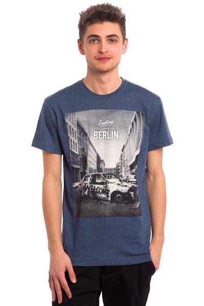 Iriedaily Greetings T-Shirt (navy melange)