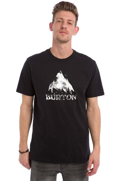 Burton Stamped Mountain T-Shirt (true black)
