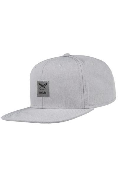 Iriedaily Re-Flag-Tive Snapback Cap (grey melange)
