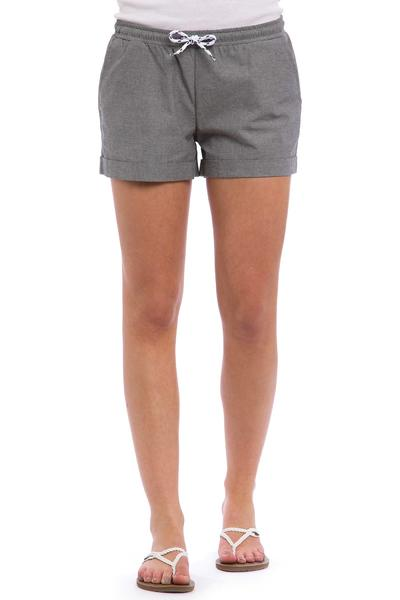 Iriedaily Chambray Shorts women (grey melange)