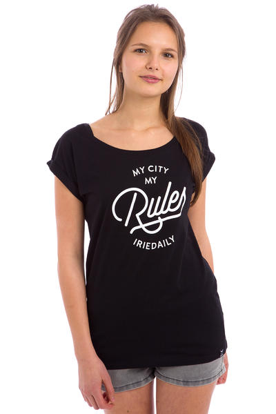 Iriedaily Rules T-Shirt women (black)