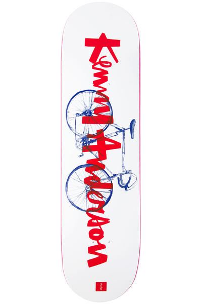 "Chocolate Anderson Transportation 8.125"" Deck (white)"