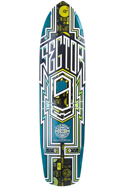 "Sector 9 Carbon Flight 36"" (91,44cm) Longboard Deck (blue)"