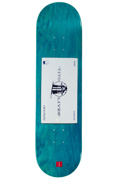"Chocolate Johnson Calling Card 8.125"" Deck"