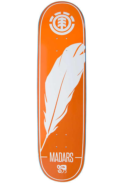"Element Madars Silhouette 8.375"" Deck (orange)"