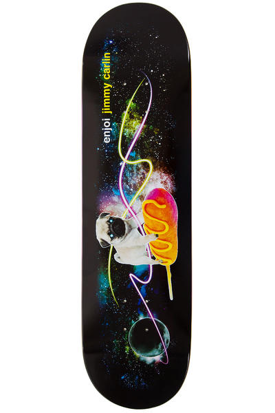 "Enjoi Carlin Snack Surfers Corndog 8.25"" Deck (black)"
