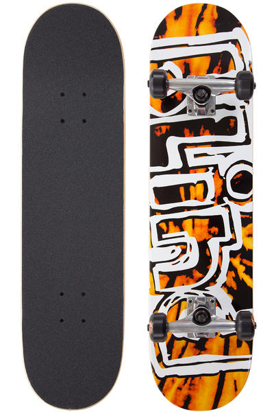 "Blind Heady Tie Dye 7.75"" Complete-Board (orange black)"
