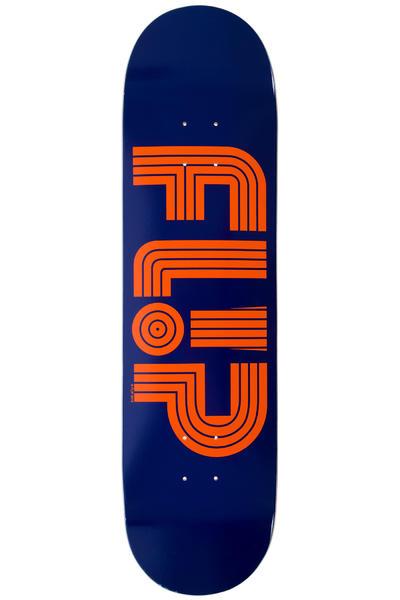 """Flip Odyssey Logo Tube 8.25"""" Deck (navy)"""