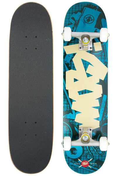 "MOB Skateboards Tape Desk Mini 7.25"" Complete-Board (blue)"