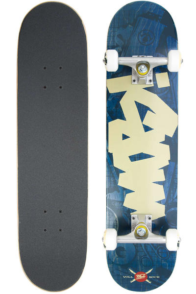 "MOB Skateboards Tape Desk 7.5"" Complete-Board (blue)"