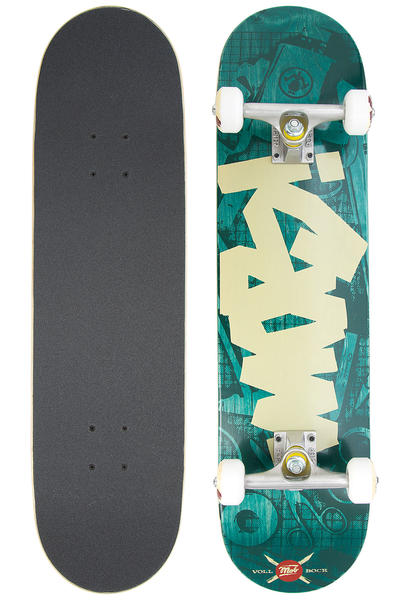 "MOB Skateboards Tape Desk 7.75"" Complete-Board (green)"