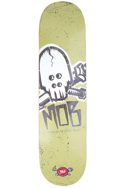 "MOB Skateboards Skull Stencil 7.75"" Deck (green)"