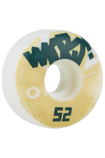 MOB Skateboards Tape 52mm Soft Rollen (white) 4er Pack