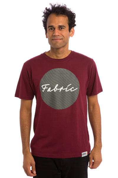 Fabric Skateboards Centro Camiseta (maroon)
