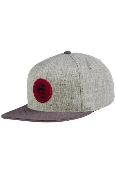 Etnies Rook Snapback Cap (charcoal heather)