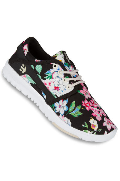 Etnies Scout Shoe women (black floral)