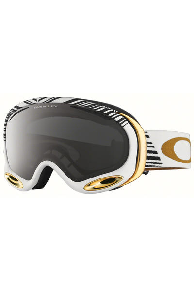 Oakley A Frame 2.0 Shaun White Signature Goggle (white gold dark grey)