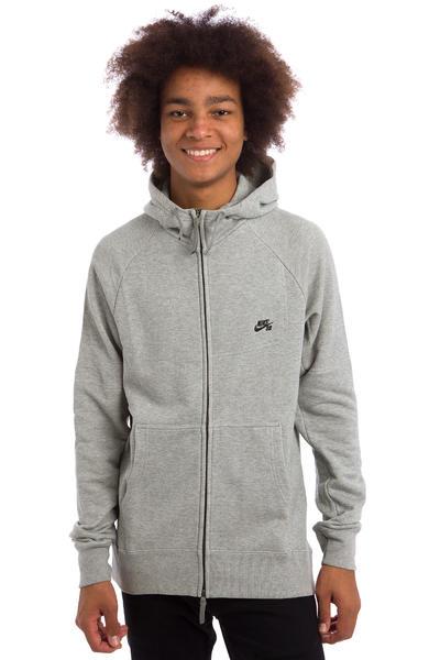 Nike SB Everett Graphic Zip-Hoodie (dark grey heather)