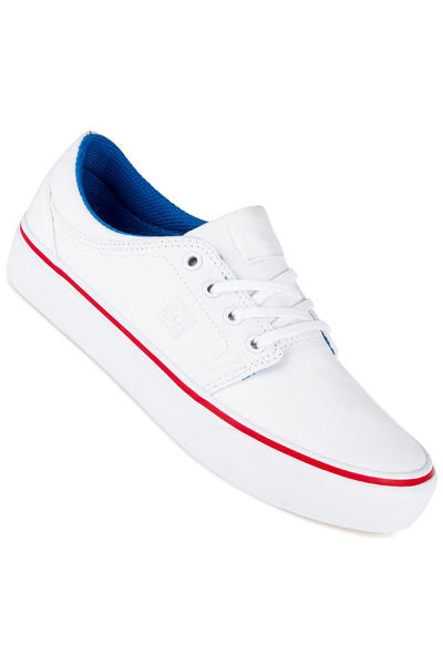 DC Trase TX Shoe women (white blue red)