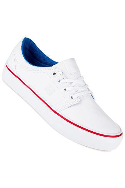 DC Trase TX Shoe women (white blue red)
