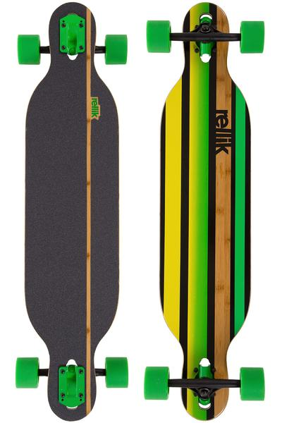 """Rellik Green Straightline 38"""" (96,5cm) Longboard-Complète"""