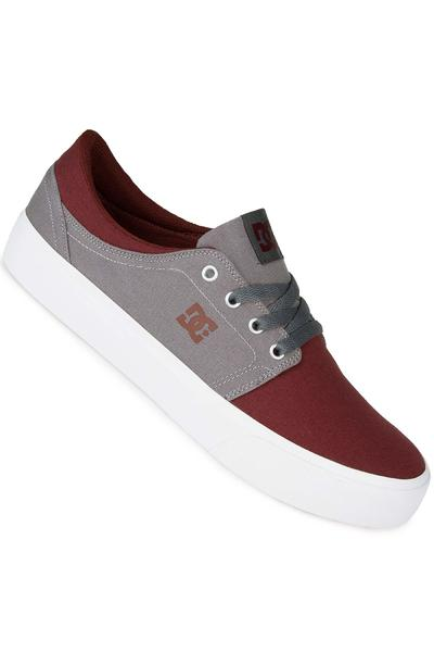 DC Trase TX Shoe (oxblood light grey)