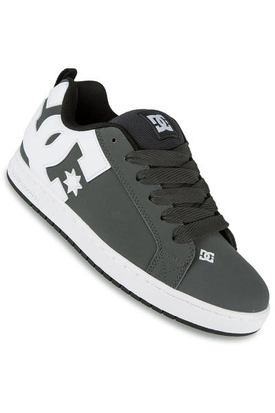 DC Court Graffik Shoe (grey white)