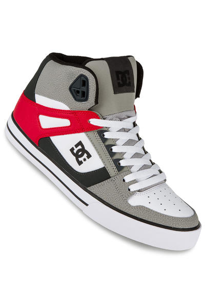 DC Spartan High WC Shoe (grey red white)
