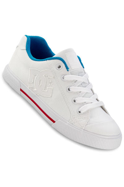 DC Chelsea TX Shoe women (white red blue)