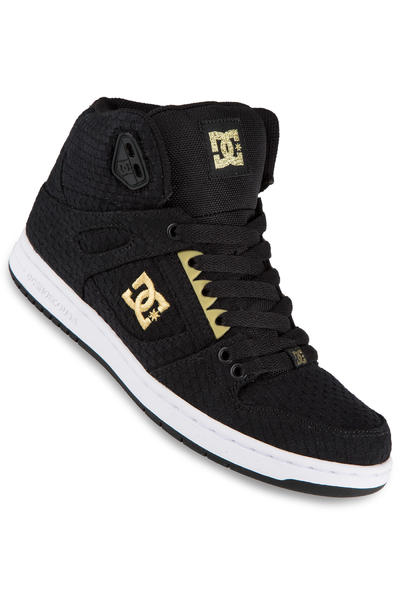 DC Rebound High TX SE Shoe women (black white gold)
