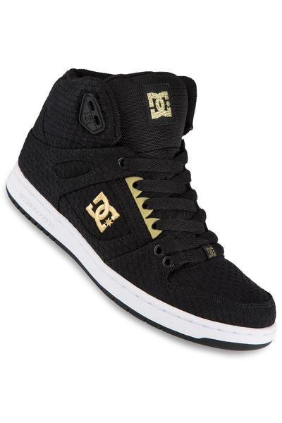 DC Rebound High TX SE Shoe women (black white gold)