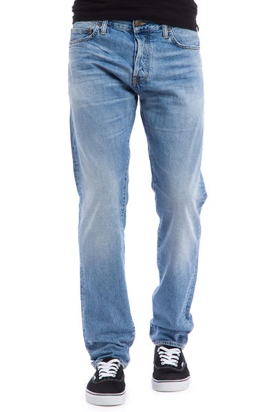 Carhartt WIP Klondike Pant Edgewood Jeans (blue burst washed)