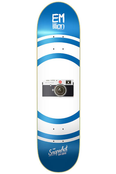 "EMillion Mizurov Snapshot Series 8.125"" Deck (blue white)"