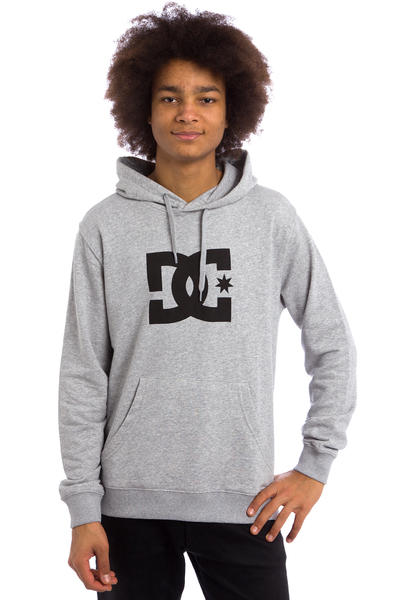 DC Star Hoodie (heather grey black)