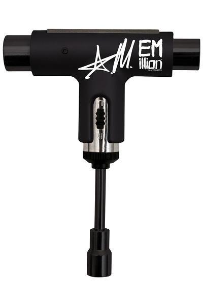 EMillion x Silver Mizurov Skate-Tool (black white)