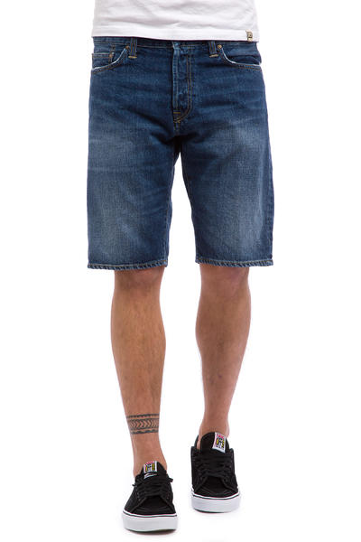Carhartt WIP Klondike II Edgewood Shorts (blue gravel washed)