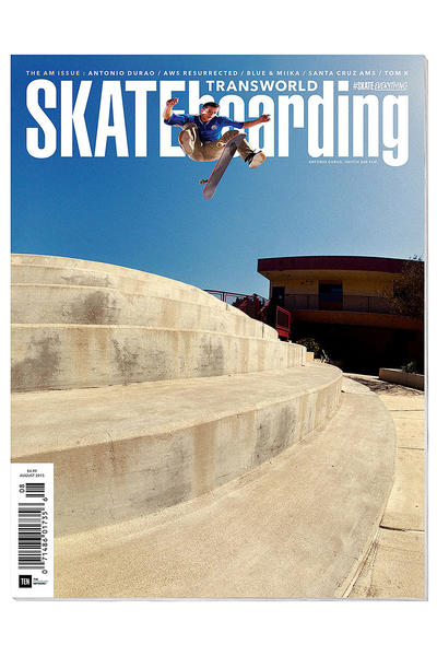 Transworld August 2015 Magazine
