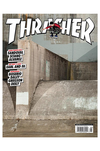 Thrasher August 2015 Magazin