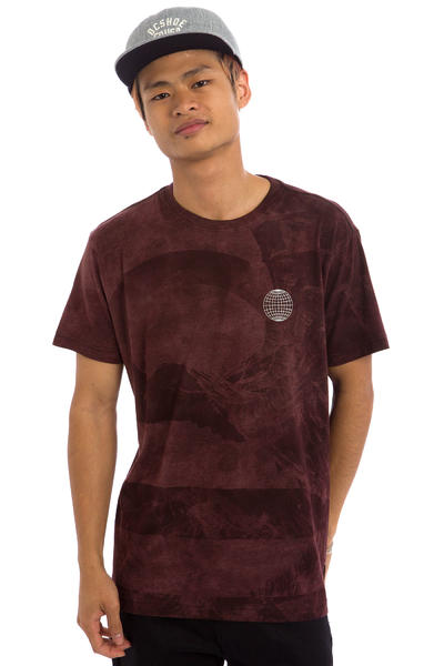 DC Cloud Kick T-Shirt (syrah)