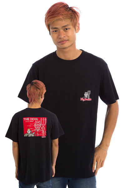 DC x Big Brother Devil Diagram T-Shirt (black)