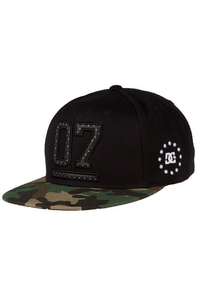 DC Oh Seven 6 Panel Cap (black)