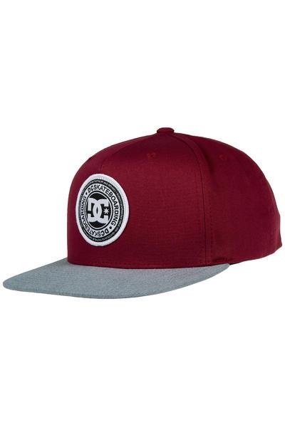 DC Stapler Snapback Cap (syrah)