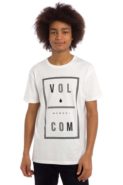 Volcom Saturday T-Shirt (paint white)