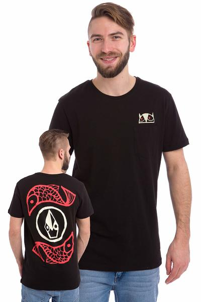Volcom Don Pendleton FA Stone Fill T-Shirt (black)