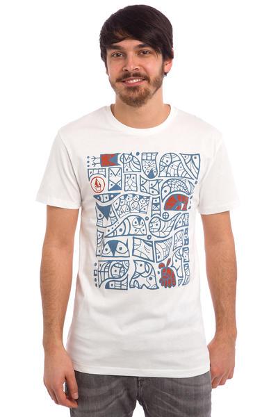 Volcom Don Pendleton FA Pattern T-Shirt (paint white)