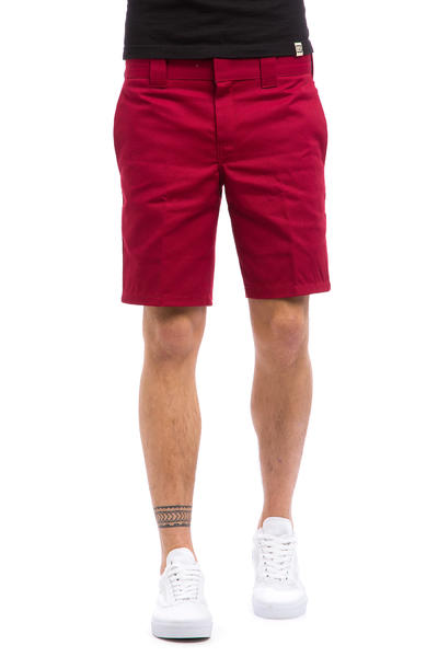 Dickies Slim Straight Work Shorts (aged brick)