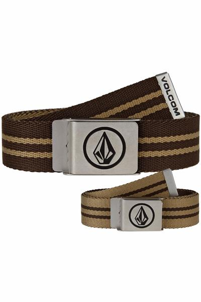 Volcom Circle Premium Belt reversible (soil)