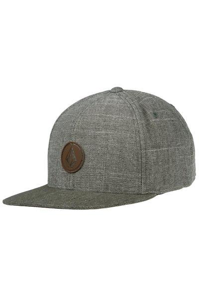 Volcom Quarter Fabric Snapback Cap (expedition green)